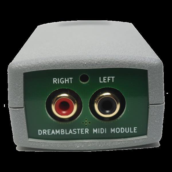 DreamFace - Modulo MIDI Interface Dreamblaster - Connettori RCA